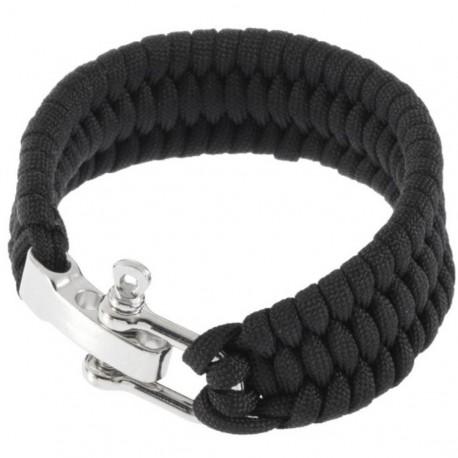 Bracelet paracorde avec boucle en métal