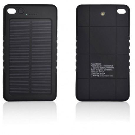 Batterie solaire étanche 1.2W 5V 8000mAh